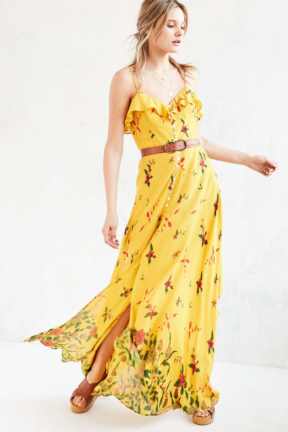 Yellow Dress Urban Outfitters