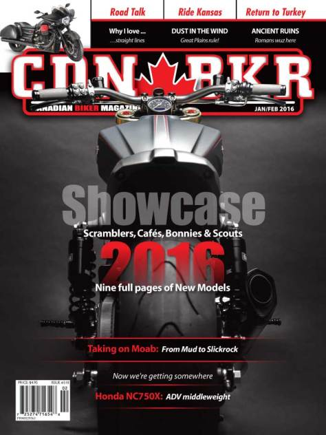 Canadian Biker Jan/Feb 2016