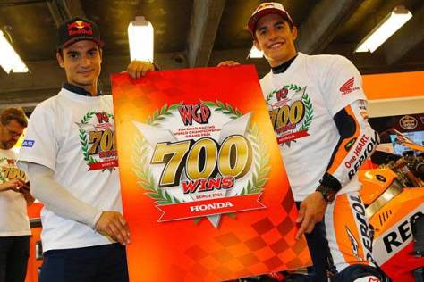 MotoGP - Honda wins