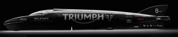 triumph castrol rocket streamliner