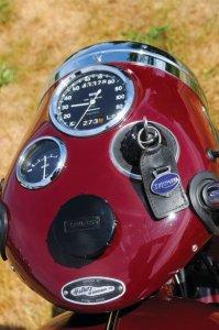 Triumph 500cc bathtub Speed Twin