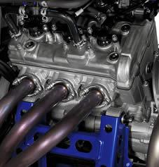 yamaha YXZ1000R triple motor