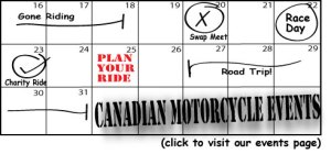 canadian motorcyce events 2016