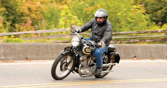 Built From Scratch - AJS V4 - Canadian Biker Magazine