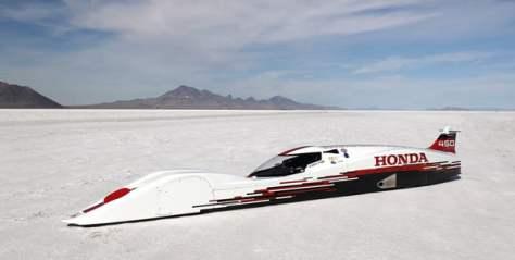 Honda S-Dream Streamliner - Fastest Honda Vehicle Ever.