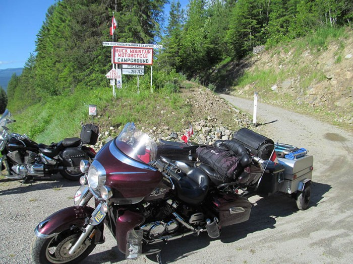 British Columbia motorcycle campgrounds