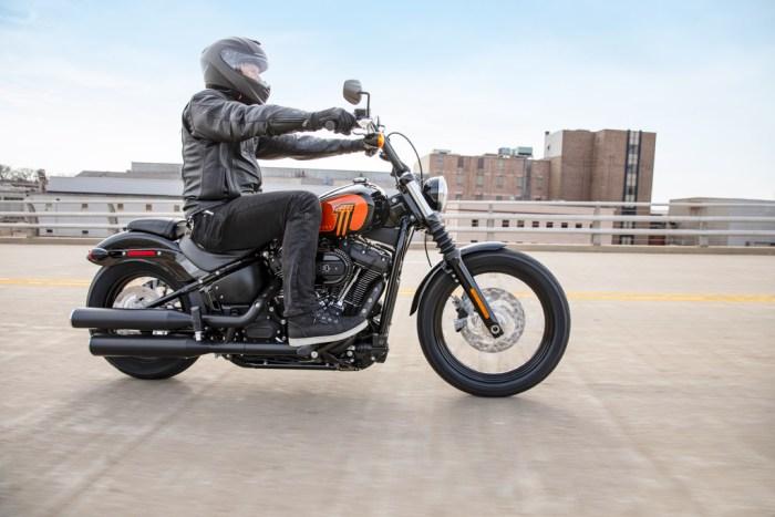 A bigger 114 motor graces the stripped-down 2021 Harley-Davidson Street Bob
