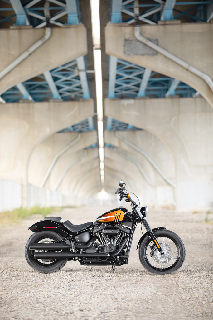 A bigger 114 motor graces the stripped-down 2021 Harley-Davidson Street Bob