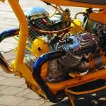 custom Moto Guzzi chopper