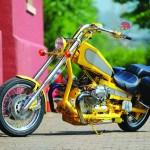 custom Moto Guzzi chopper custom motorcycle canada