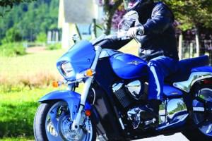 Suzuki m90 side riding