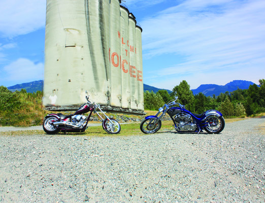 custom motorcycle roadside attraction