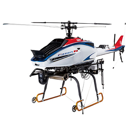 Yamaha helicopter