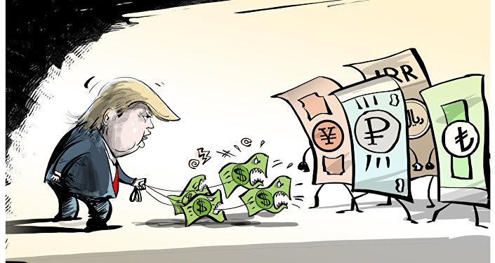 Quando outras moedas fazem questão de se posicionar contra dólar