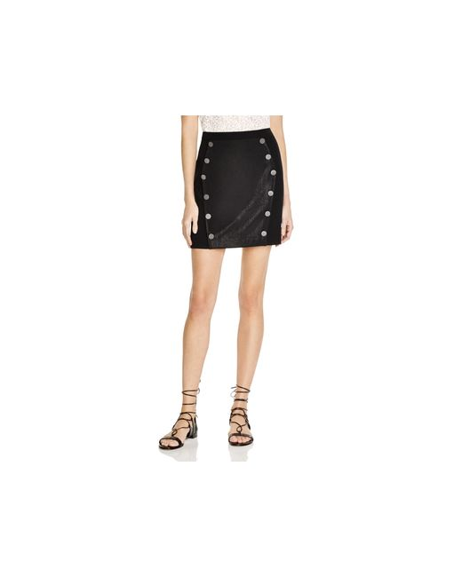 The kooples Military Button Mini Skirt - 100% Bloomingdale ...