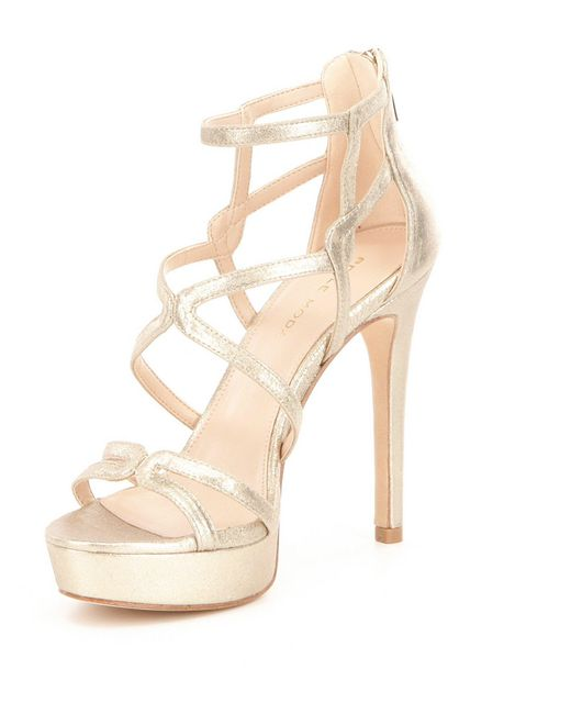 Pelle moda Olympic Dress Sandals in Metallic   Lyst