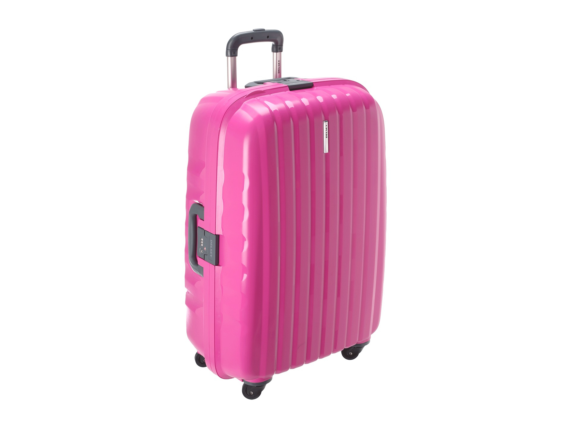 Pink Delsey Luggage Mc Luggage