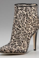 Bottega Veneta Lace Ankle Boot
