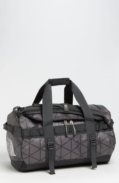 The North Face Base Camp Small Duffel Bag in Gray for Men ...