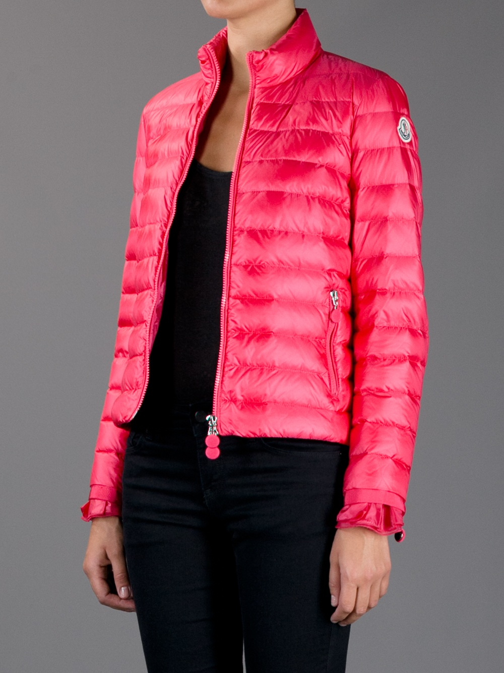 Lyst Moncler Haru Padded Jacket In Pink