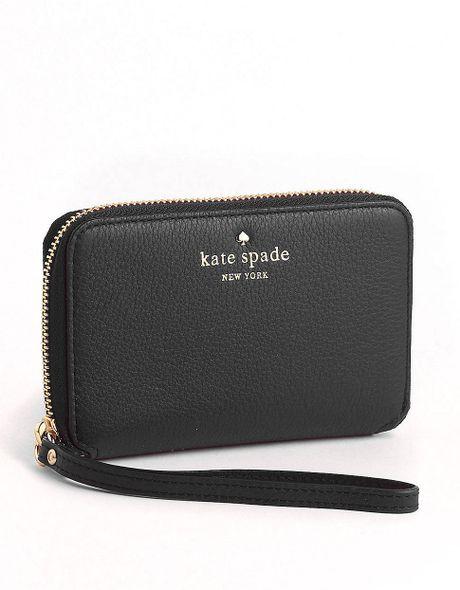 Kate Spade New York Cobble Hill Louie Leather Wristlet