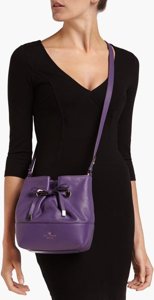 Kate Spade West Valley Small Valentine Leather Bucket Bag