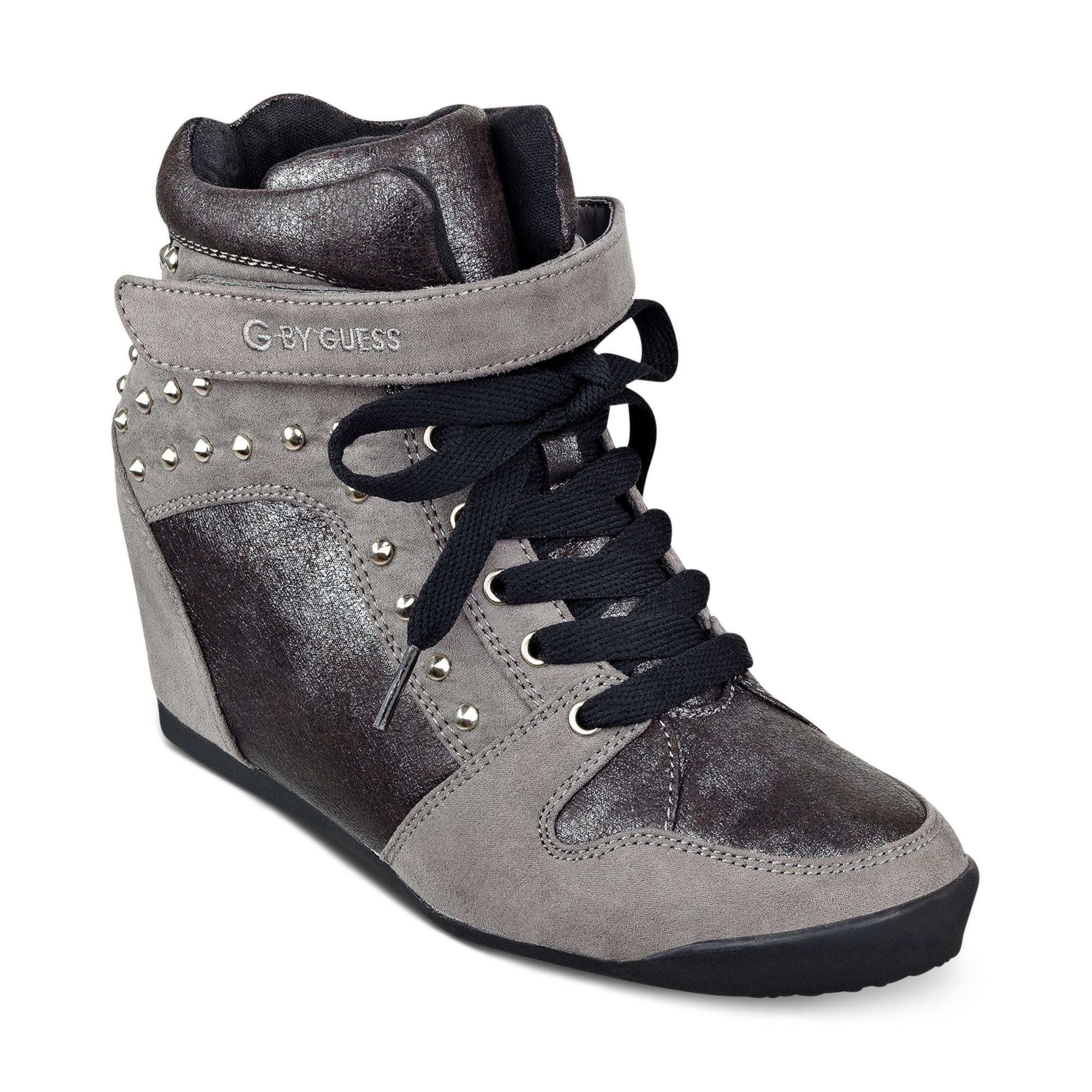 Lyst G By Guess G By Guess Shoes Raurie Glitter Wedge