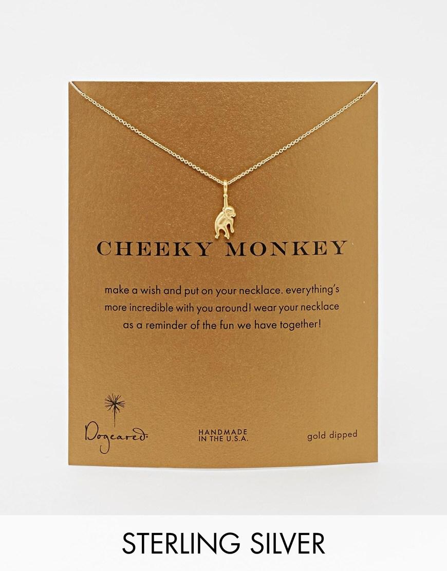 Dogeared Jewelry Monkey