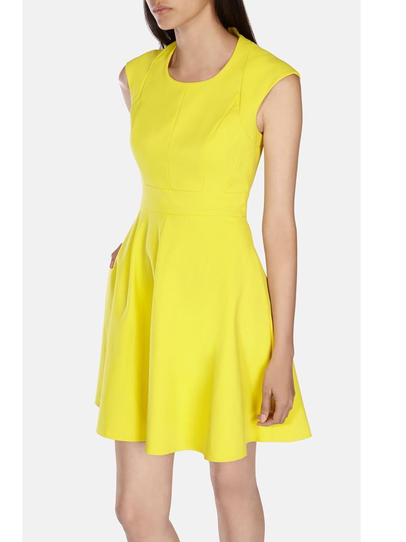 Yellow Dress Karen Millen