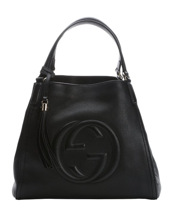 c9a16245611 Lyst Gucci Soho Leather Top Handle Bag In Black Free Coloring Pages ...