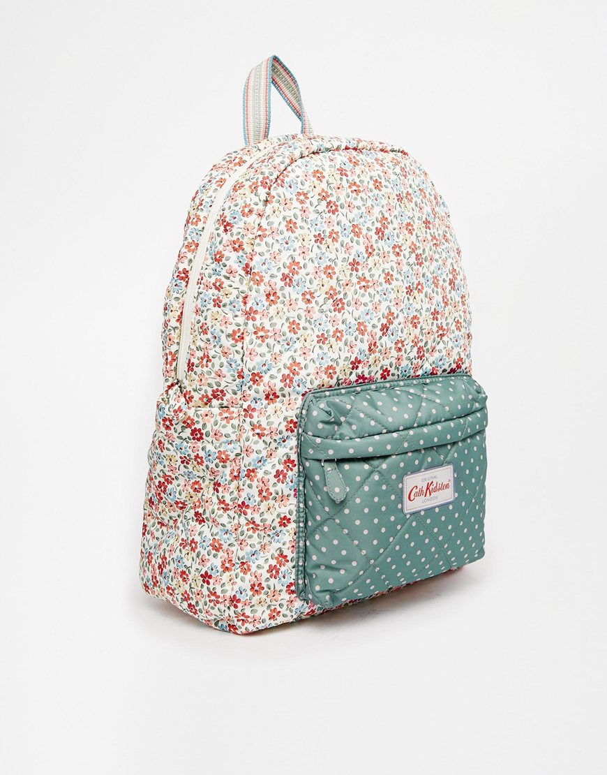 Lyst Cath Kidston Quilted Backpack