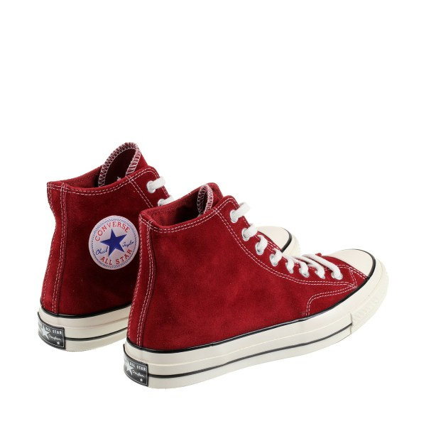 Converse Chuck Taylor 70 Hi Leather in Red for Men | Lyst
