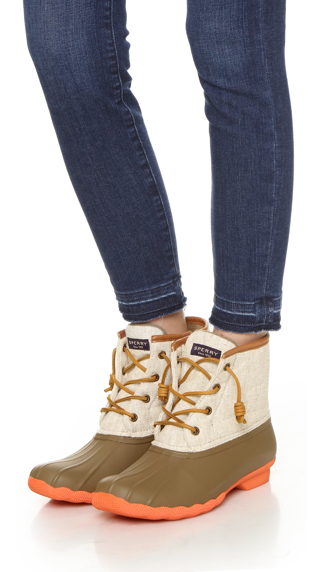 Sperry Top Sider Saltwater Booties