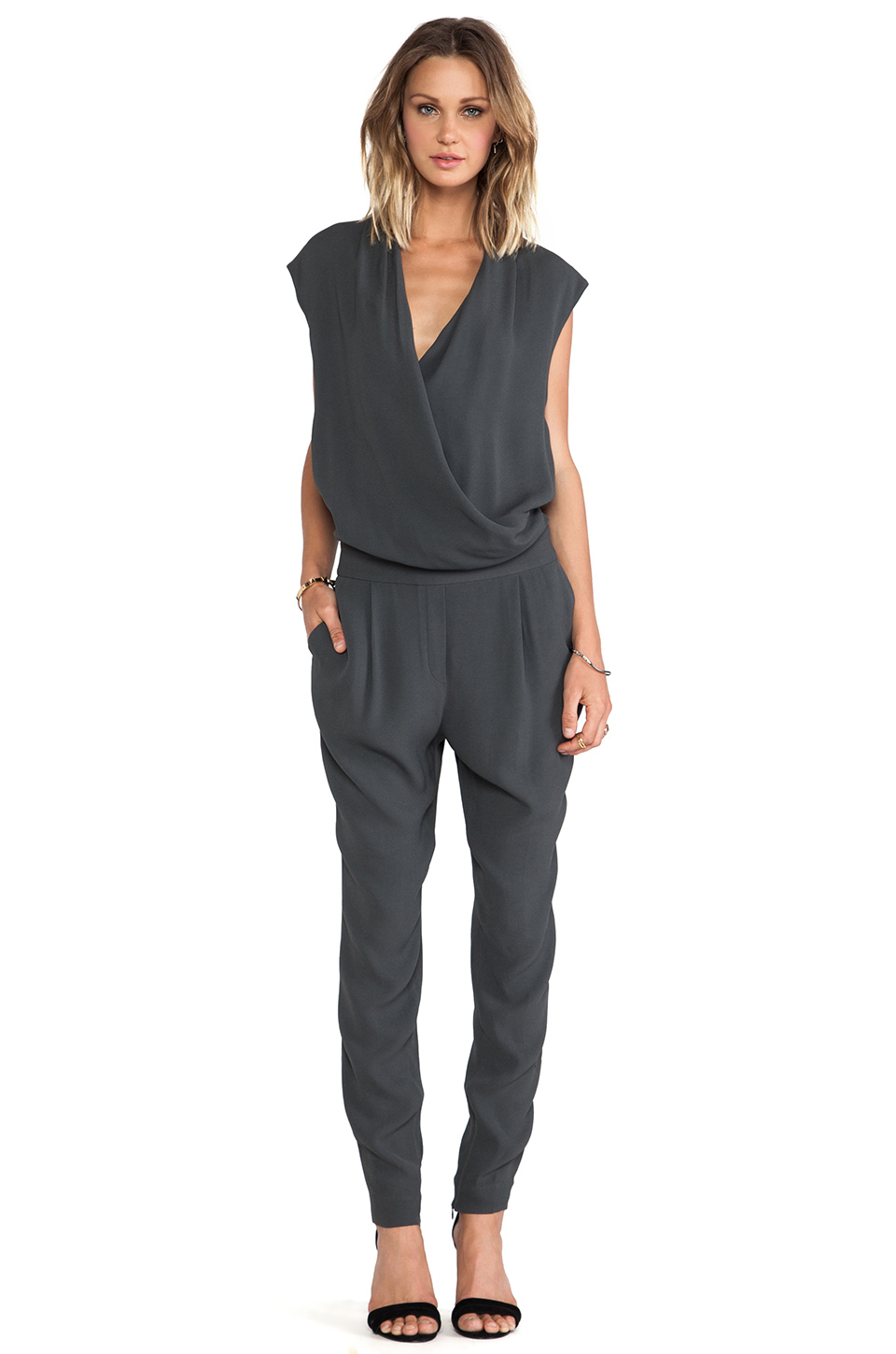 By Malene Birger Cointa Fresh Look Jumpsuit In Gray Lyst