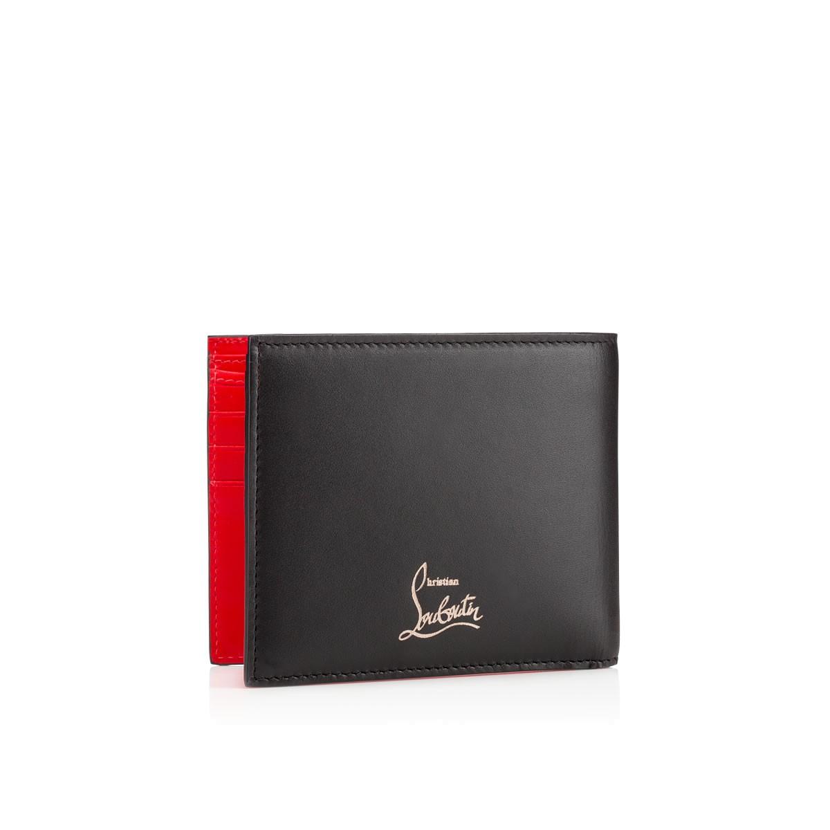 Christian Louboutin Kaspero Wallet In Black For Men Lyst