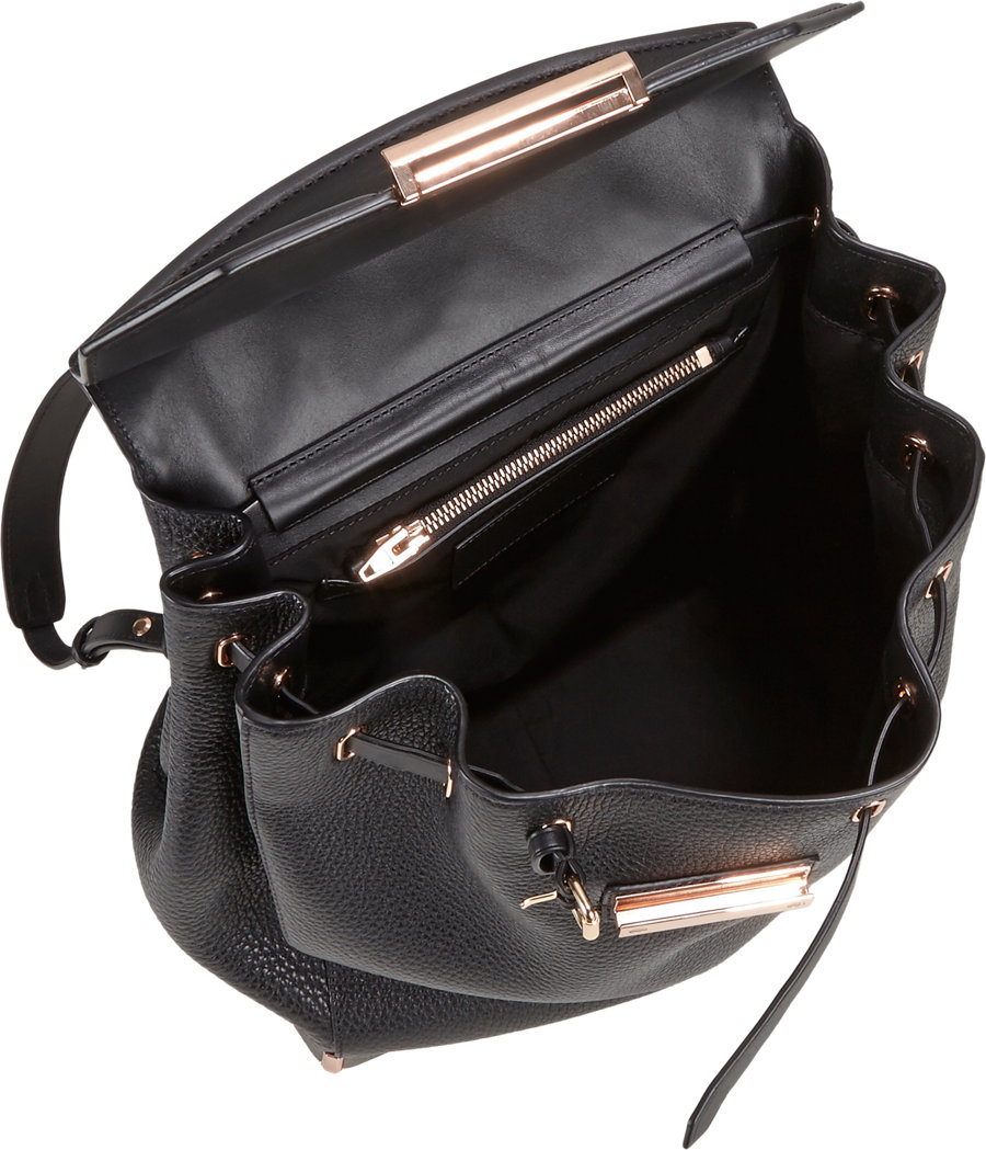 Alexander Wang Prisma Skeletal Backpack In Black Lyst