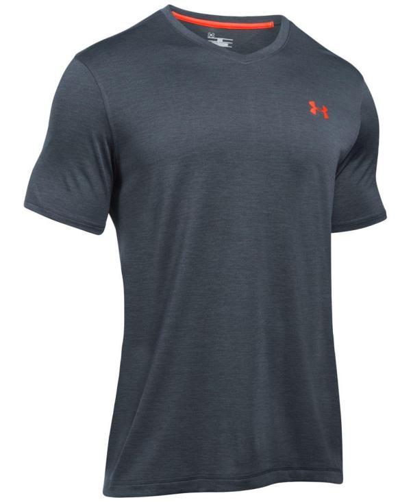 Under armour Men's V-neck Tech T-shirt in Gray for Men | Lyst