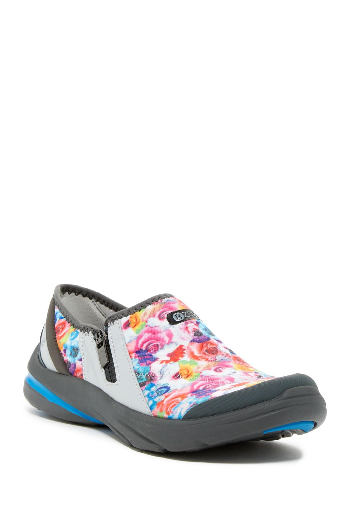 Lyst Bzees Lifetime Floral Slip On Sneaker Wide Width