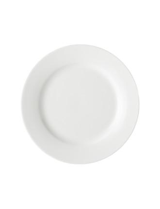 Maxwell & Williams White Basics New Rim Side Plate 19Cm