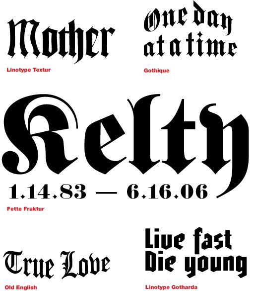 Tattoo Fonts Fonts Com Fonts Com
