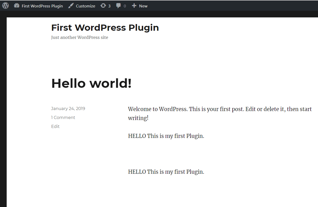 Step By Step Guide To Make Your First Wordpress Plugin