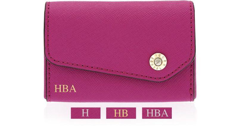 afd625617c9c1 Lyst Henri Bendel Mind Your Business Card Case In Pink
