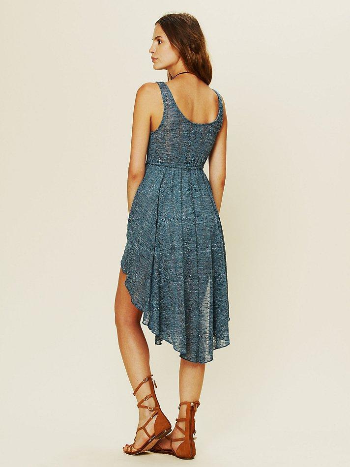 Lyst Free People Starry Night Dress In Blue
