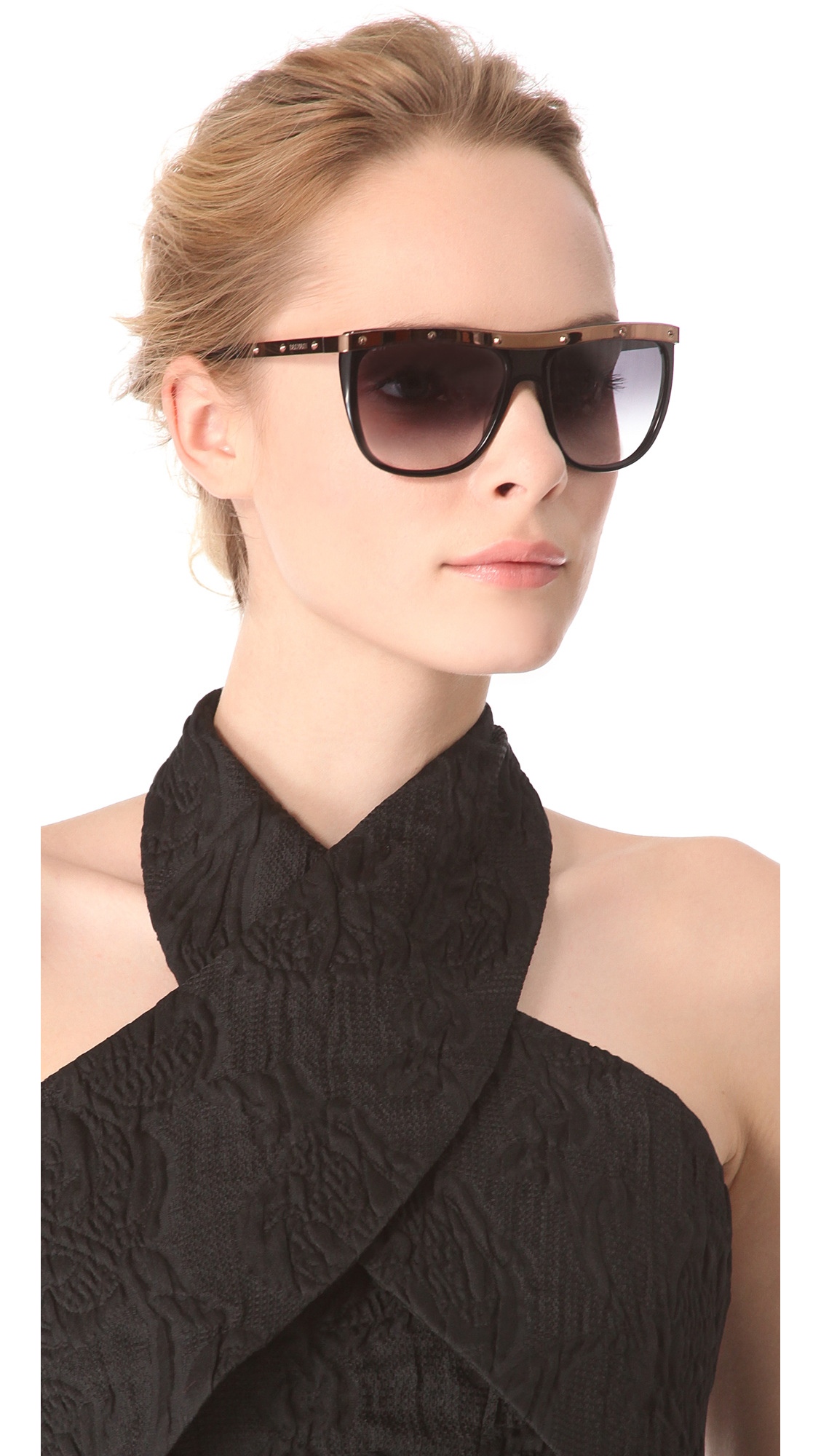 Balmain Kristen Sunglasses In Black Lyst