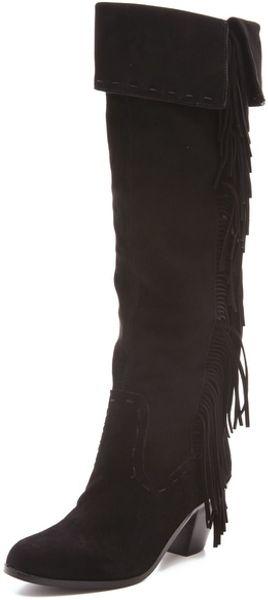 Sam Edelman Luella Fringe Boots