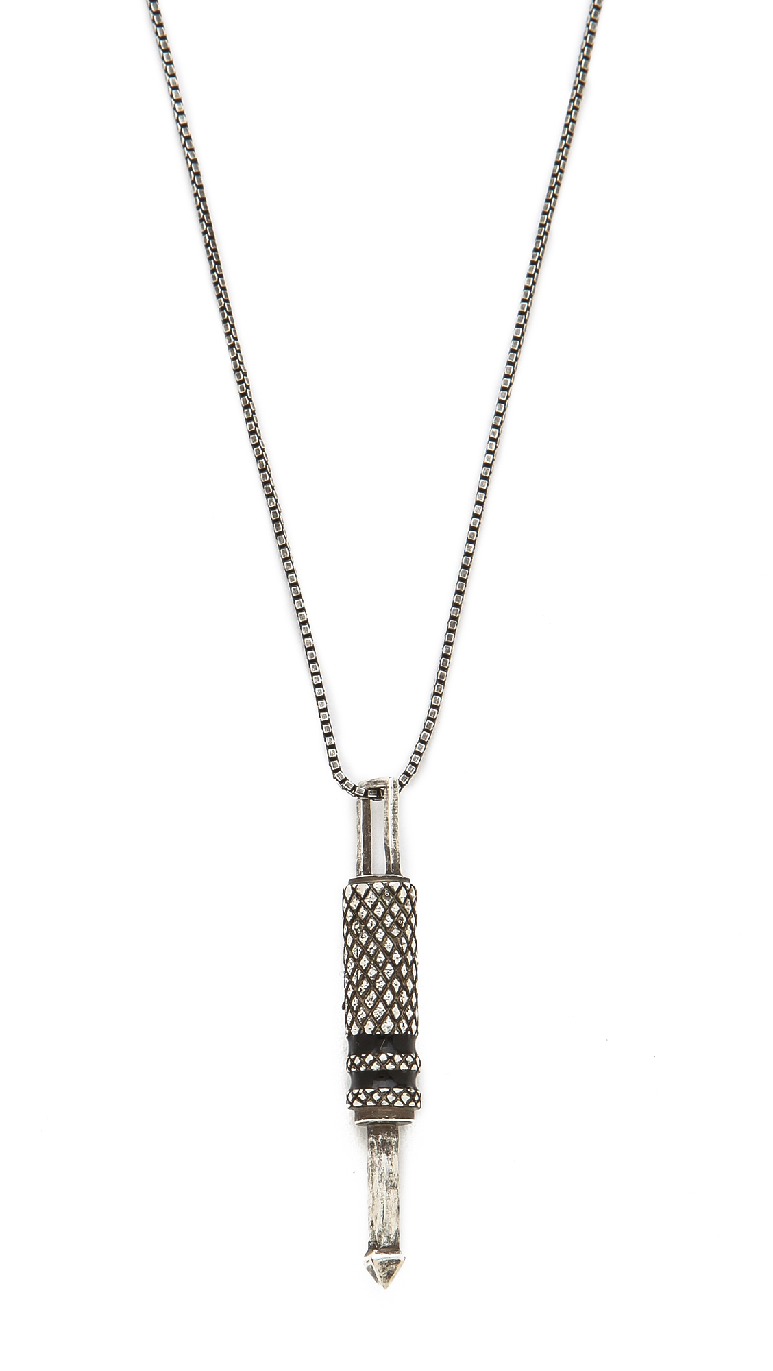 Edborgo Jack Pendant Necklace In Silver For Men
