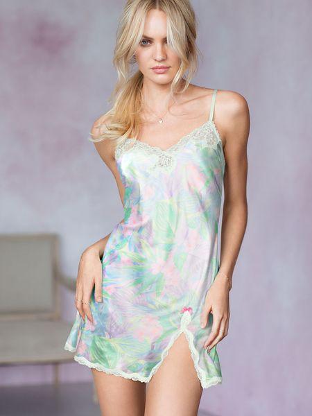 Victoria's Secret Lace-trim Slip Lingerie in White (hazy ...