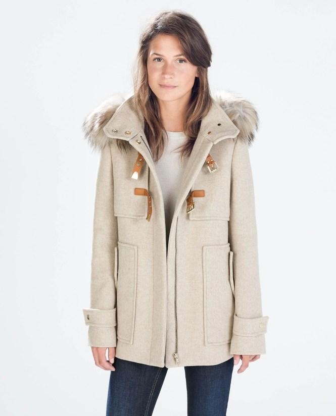 Mens Fur Hooded Duffle Coat - Best Hood 2017