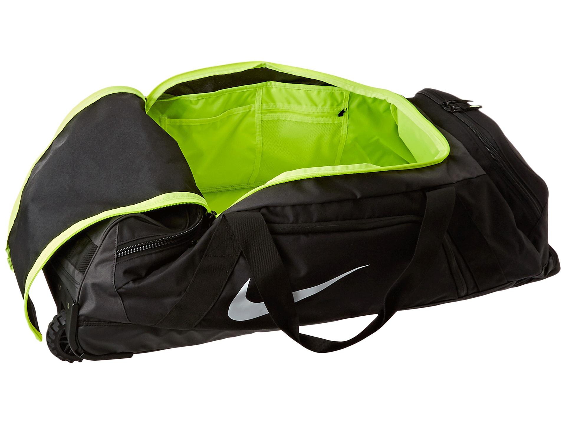 Nike Mvp Elite Roller Bag In Gray Lyst