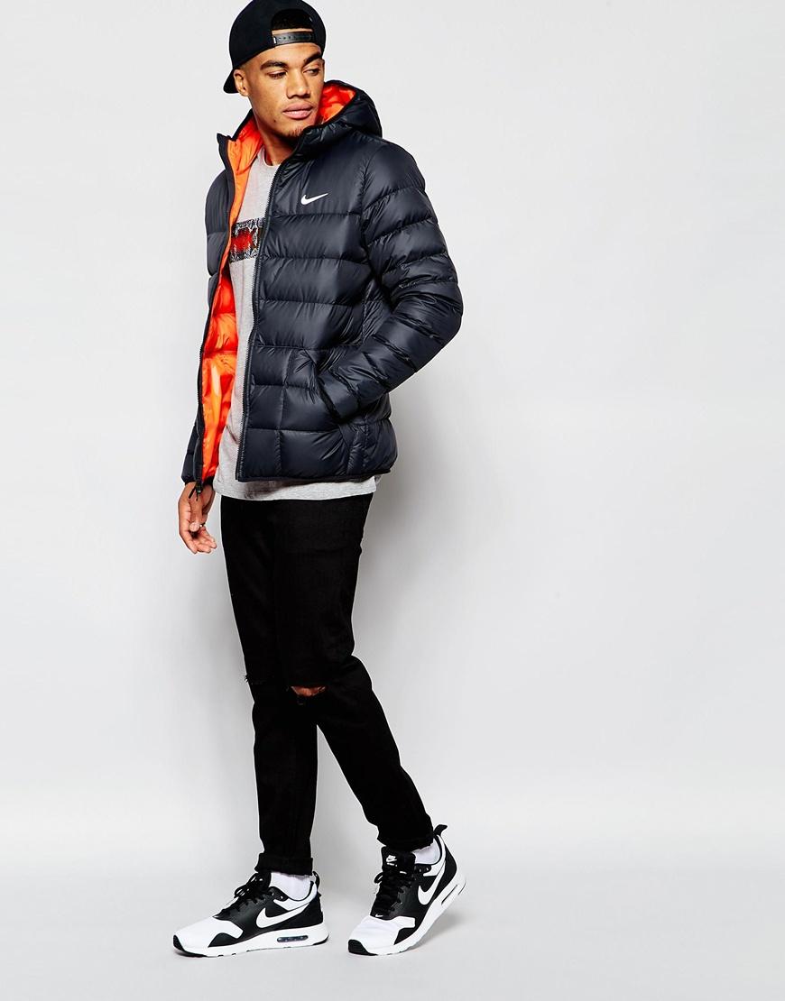 c6248b9e97e5 Nike Alliance Padded Jacket 626918 011 In Black For Men Lyst ...